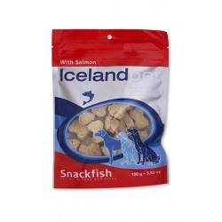 FISH SNACK PER CANI  Iceland Pet - SALMONE
