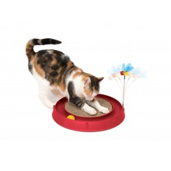 Catit Play Circuit Ball w/ Scratch Pad