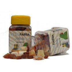Cubetti mix di frutta parrot treat