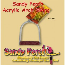 SANDY PERCH ACRYLIC ARCH SWING SMALL